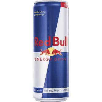Red Bull Energy Drink Burk 35.5cl Red Bull
