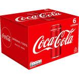 Coca-cola 6-pack Burk Coca-cola 6p/33cl