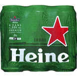 Heineken 3.5% Lager Folköl Heineken 6p/50cl