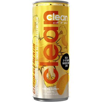 Citrus/clement Bcaa Energidryck Burk 33cl Clean Drink