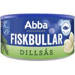 Fiskbullar I Dillsås Abba 375/190g