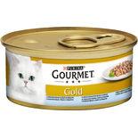 Gourmet Gold Havsfisk Béchamel Spenatsås Kattmat Gourmet 85g