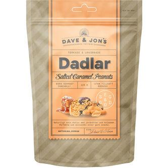 Dadlar Salted Caramel Peanuts 125g Dave & Jon's