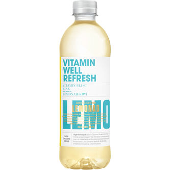 Refresh Lemonad Pet 50cl Vitamin Well