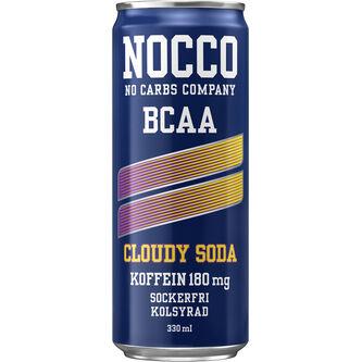 Cloudy Soda Bcaa Energidryck Burk 33cl Nocco