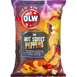 Hot Sweet Peppers Chips Limited Edition Olw 250g