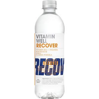 Recover Fläder/persika Pet 50cl Vitamin Well