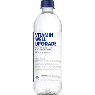 Upgrade Citron/kaktus Stilla Vatten Pet 50cl Vitamin Well