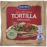 Tortilla Original Medium Santa Maria 8p/320g
