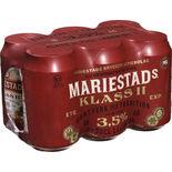 Mariestads 3.5% Folköl Mariestads 6p/33cl