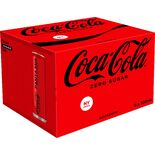 Coca-cola Zero 6-pack Burk Coca-cola Zero 6p/33cl