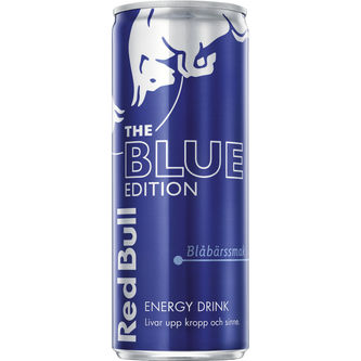 Red Bull Energy Drink Blue Special Edition 25cl Red Bull
