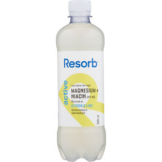 Active Lemon Lime Vätskeersättning 50cl Resorb