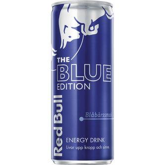 Blue Edition Blåbärssmak Energidryck Burk 25cl Red Bull