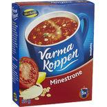Varma Koppen Minestrone Pulver Blå Band 3p/6dl