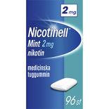 Mint 2mg Nikotintuggummi Nicotinell 96p