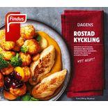 Kycklingfilé Rostad Fryst Findus 390g/1p