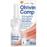 Otrivin Comp 0,5/+0,6mg Nässpray Otrivin 10ml