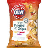 Friendchips Ost Tomat Lök Limited Edition Olw 250g
