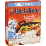 Ris Boil-in-bag Långkornigt Uncle Ben's 500g
