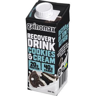 Recovery Cookies & Cream Ready To Drink 250ml Gainomax