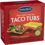 Taco Tubs Santa Maria 8p/145g