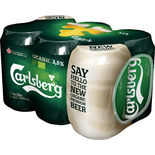 Carlsberg 3.5% Organic Öl 6-pack Carlsberg 6p/33cl