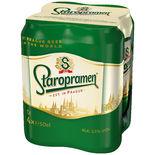 Staropramen Öl 3.5% Staropramen 4p/50cl