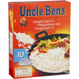 Långkornigt Ris 10 Min Uncle Ben's 1kg