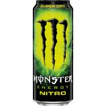 Nitro Super Dry Energidryck Burk Monster Energy 50cl