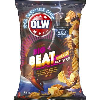 Cheesy Barbecue Idol Ltd 250g Olw