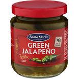 Jalapeno Hot Green Santa Maria 215g