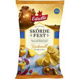 Nyskördat Ltd Kantarell Vitlök & Chili Estrella 250g