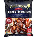 Drumsticks Chicken Bbq Fryst Guldfågeln 500g