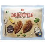 Bröstfilé Av Svensk Kyckling Fryst Garant 1kg