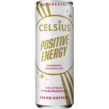 Positive Energ Straw Marshmal Energidryck Burk Celsius 35,5cl