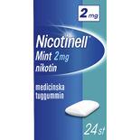 Mint 2mg Nikotintuggummi Nicotinell 24p