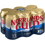 Norrlands Guld 3.5% Folköl Norrlands Guld 6p/33cl