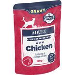 Kattmat Kyckling Påse Smart 100g