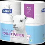 Extra Long Soft&strong Toalettpapper Lambi 4st