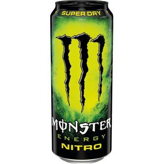 Nitro Super Dry Energidryck Burk 50cl Monster Energy