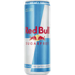 Red Bull Sugarfree Energydryck Burk Red Bull 35.5cl