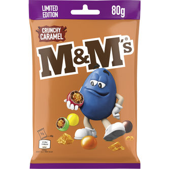 Crunchy Caramel Ltd 80g M&m's