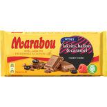 Lakrits,hallon Caramell Marabou 185g