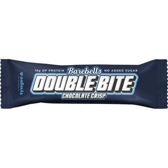 Double Bite Chocolate Crisp Bar 55g Barebells