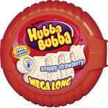 Hubba Bubba Snappy Strawberry Tuggummi Wrigley's 56g