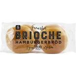 Hamburgerbröd Brioche 4-pack Garant 200g