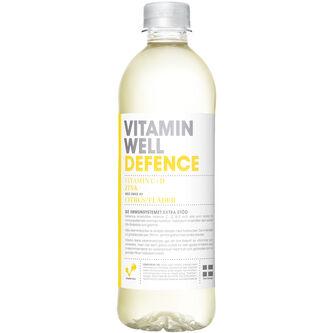 Defence Citrus/fläder Stilla Vatten Pet 50cl Vitamin Well