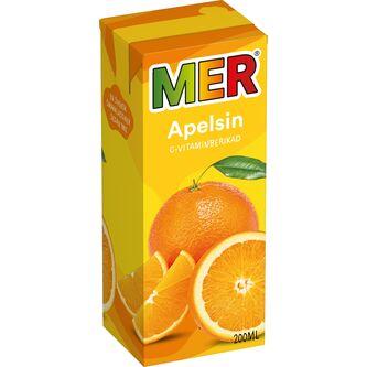 Apelsin Utan Kolsyra Stilldrink Tet 20cl Mer