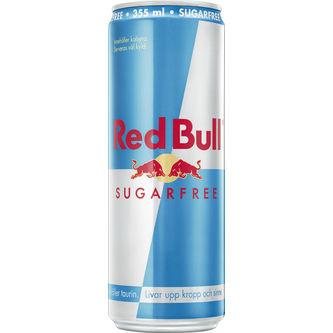 Red Bull Sugarfree Energidryck Burk 35.5cl Red Bull